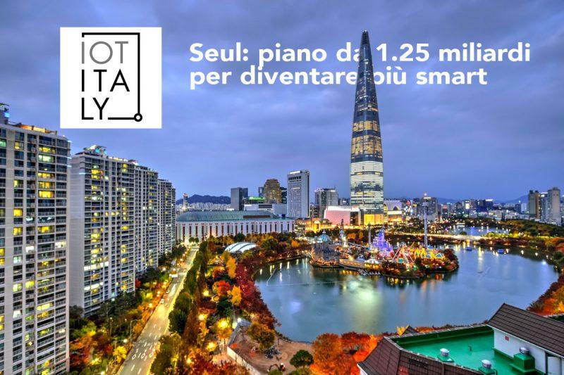 Seul un piano da 1.25 miliardi per diventare più smart